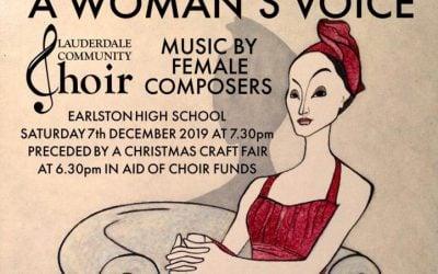 A Woman's Voice – A Winter Concert, Earlston High School