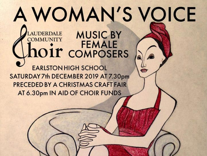 A Woman's Voice – A Winter Concert, Earlston High School